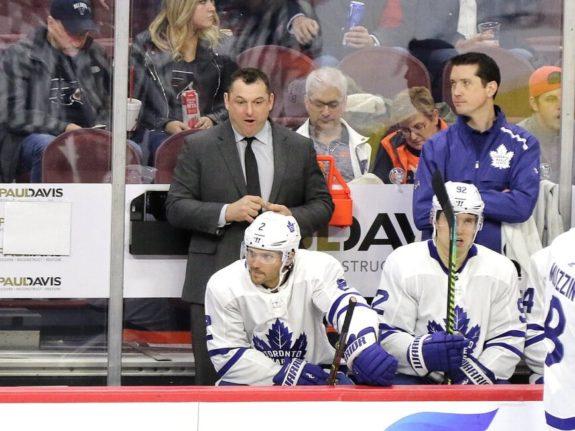 DJ Smith Toronto Maple Leafs