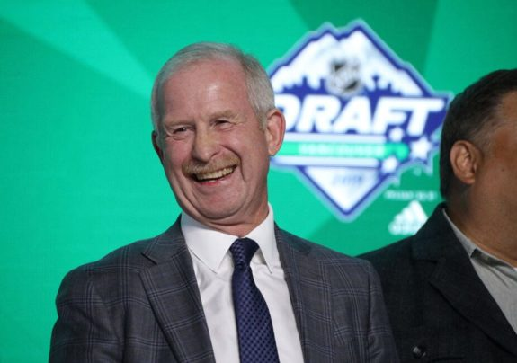 Dallas Stars Jim Nill 2019 NHL Draft