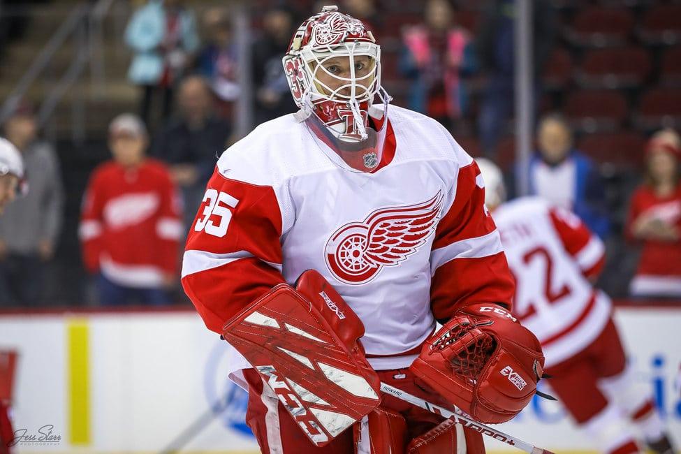 Jimmy Howard Detroit Red Wings