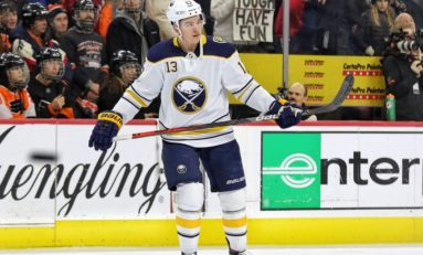 Vesey, Hutton Help Sabres Hold on to Beat Rangers 3-2