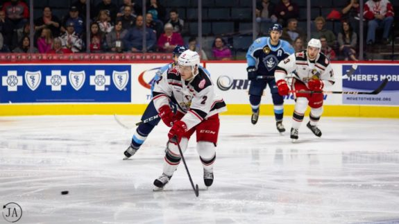 Joe Hicketts Grand Rapids Griffins Detroit Red Wings