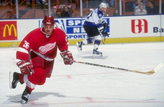 Joe Kocur Detroit Red Wings