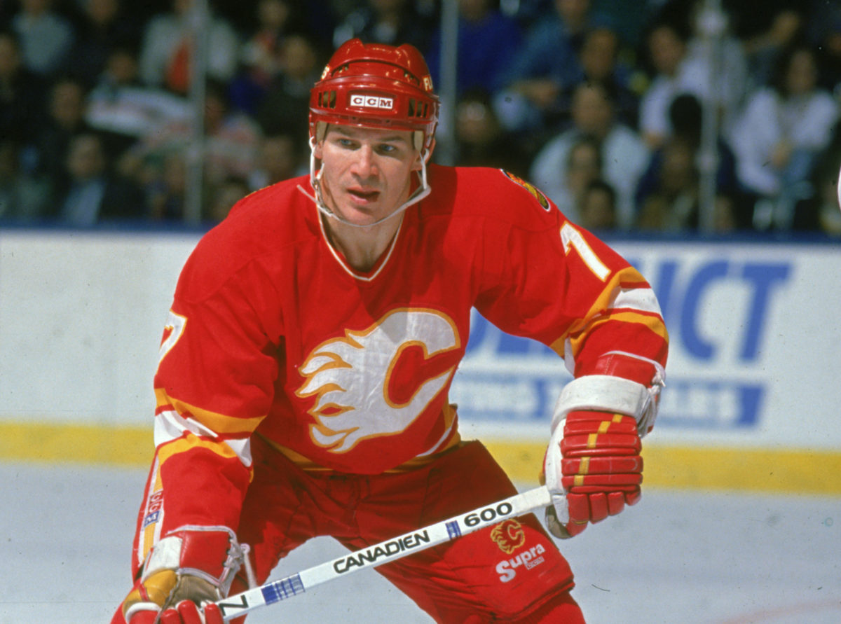 Joe Mullen Calgary Flames