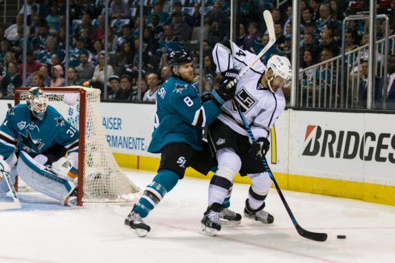 San Jose Sharks, Los Angeles Kings