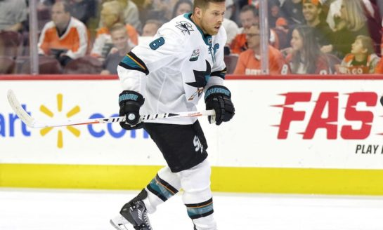 Joe Pavelski Leads Sharks in 3-1 Win Over Flames