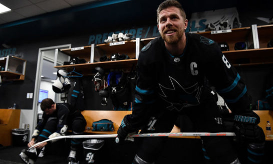Pavelski Signs With Stars, Says Sharks Didn't Step Up