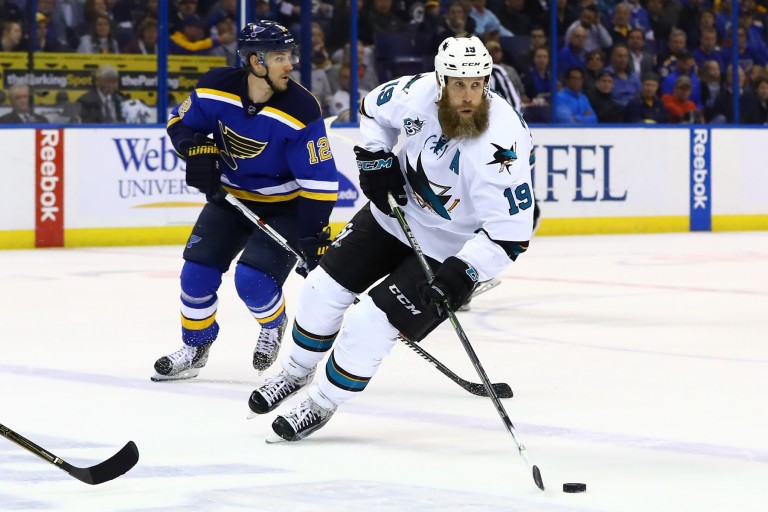Joe Thornton, NHL, San Jose Sharks