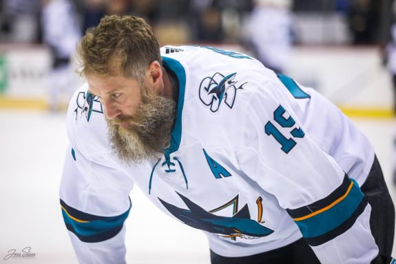Joe Thornton San Jose Sharks