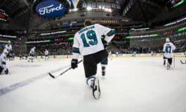 Thornton Scores as Sharks Top Blue Jackets 3-1