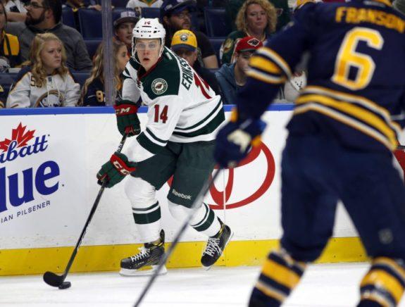 Joel Eriksson Ek (14) (Timothy T. Ludwig-USA TODAY Sports)