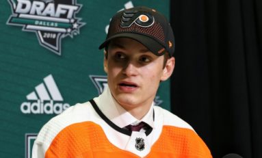 Flyers Sign Farabee to Entry-Level Contract