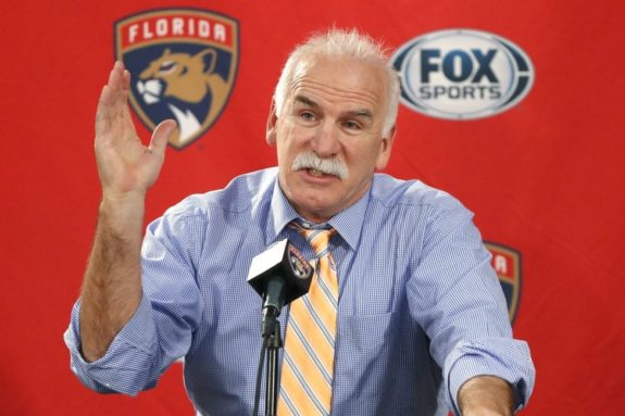 Florida Panthers Joel Quenneville