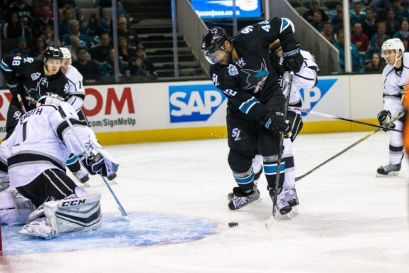 Joel Ward, San Jose Sharks