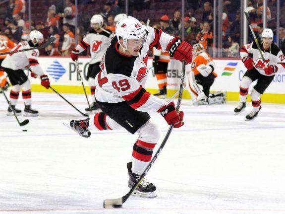 Joey Anderson #49, New Jersey Devils