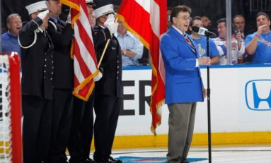 Remembering New York Rangers Anthem Singer John Amirante
