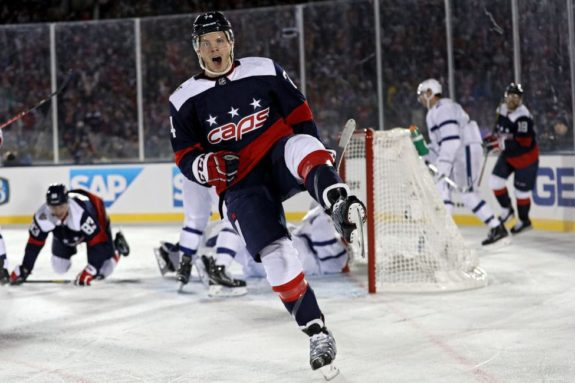 John Carlson #74 of the Washington Capitals