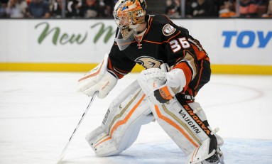 Goalie Controversy Not Quite over for Ducks