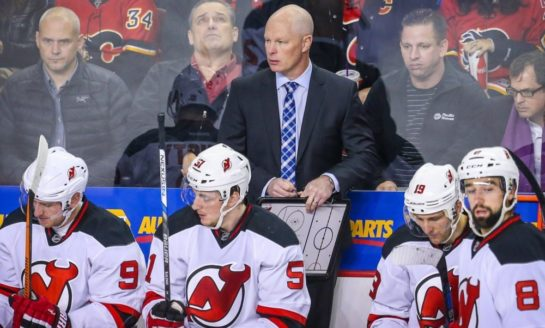 Devils' Hynes Squarely on the Hot Seat