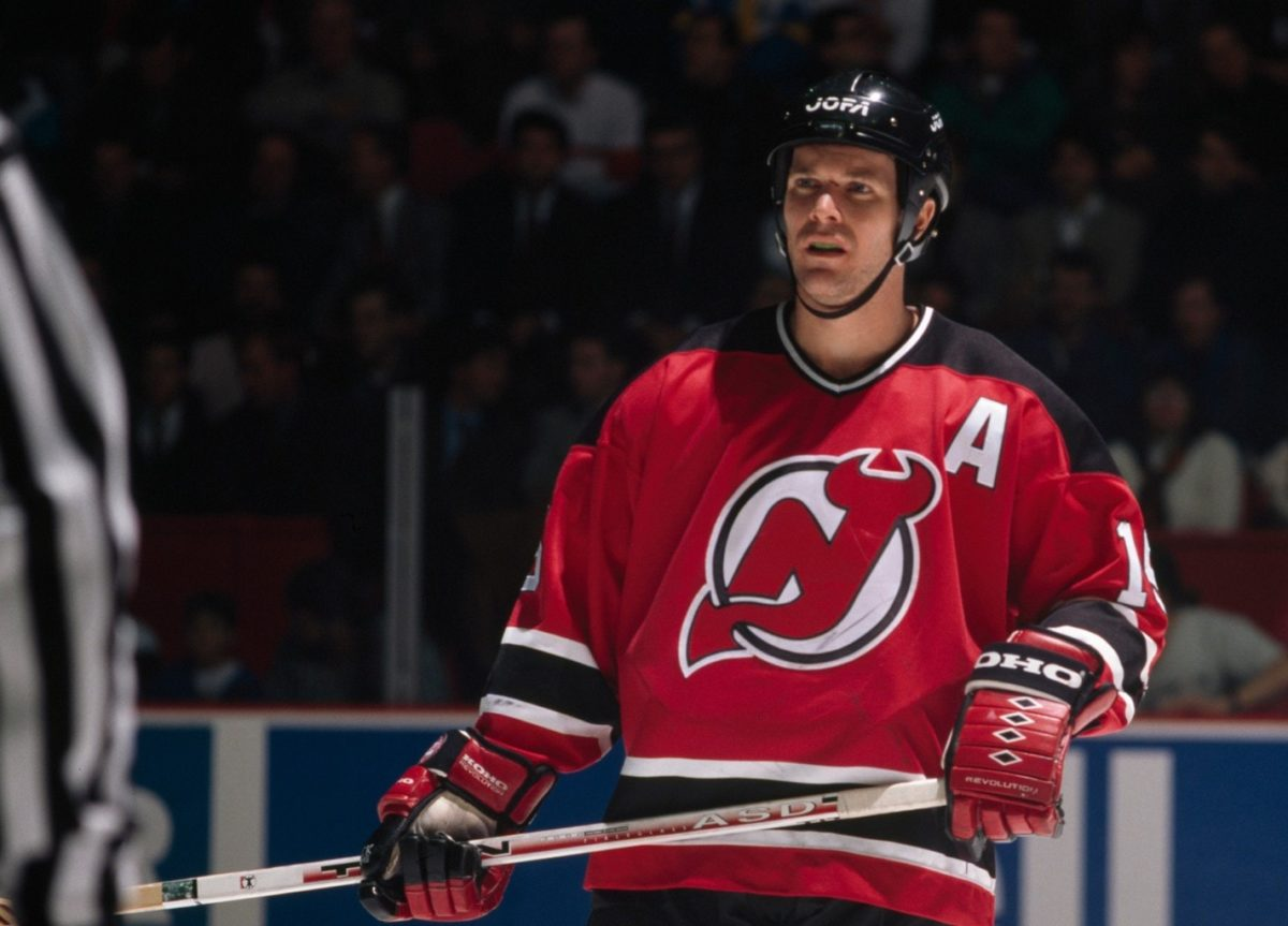 John MacLean New Jersey Devils