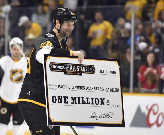 Ex-Montreal Canadiens forward John Scott