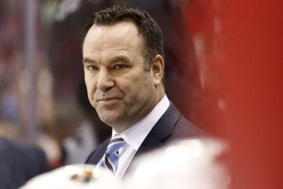 Detroit Red Wings Associate Coach John Torchetti.