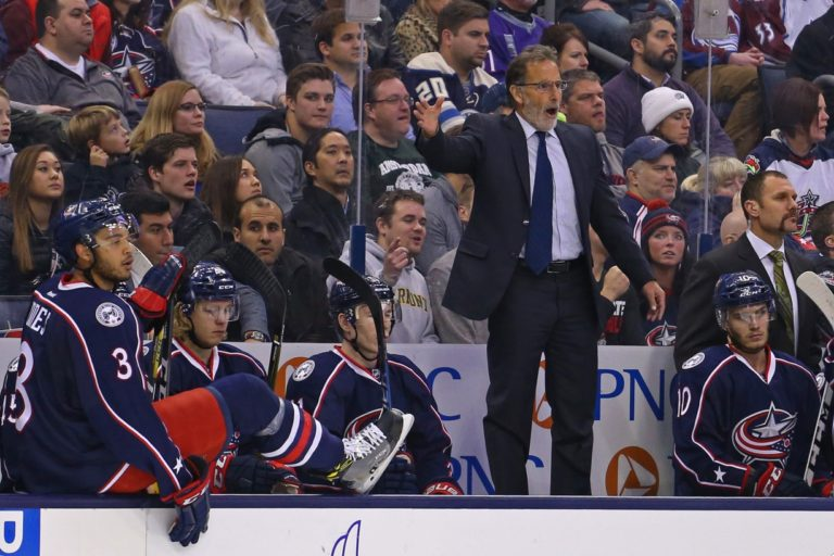 John Tortorella, Columbus Blue Jackets, NHL