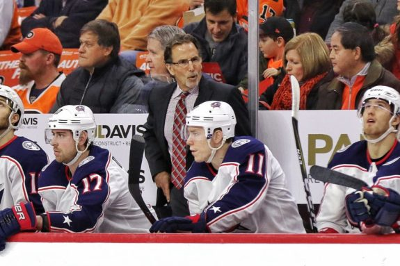 John Tortorella Blue Jackets bench (2)