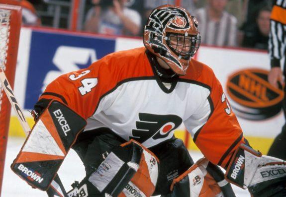 John Vanbiesbrouck Philadelphia Flyers