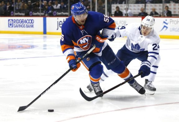 Islanders defenseman Johnny Boychuk