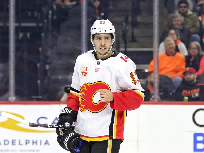 Johnny Gaudreau Calgary Flames