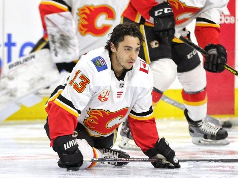 Johnny Gaudreau Calgary Flames