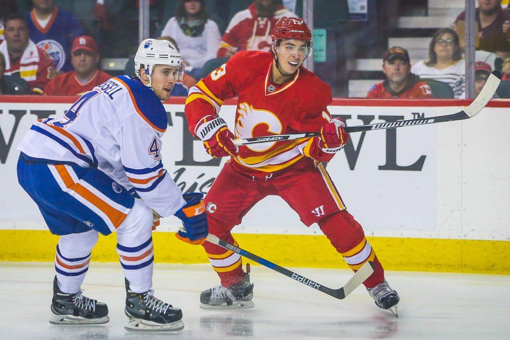 official photos e2d74 8ad6b Can the Calgary Flames 'Johnny Hockey' Gaudreau Take the ...