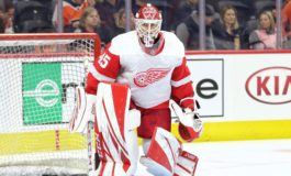 "Jonathan Bernier Is a ""Keeper"" for the Red Wings"