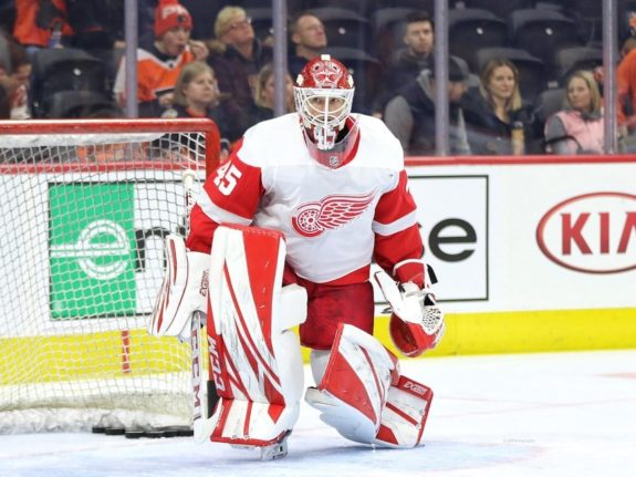 Jonathan Bernier Detroit Red Wings