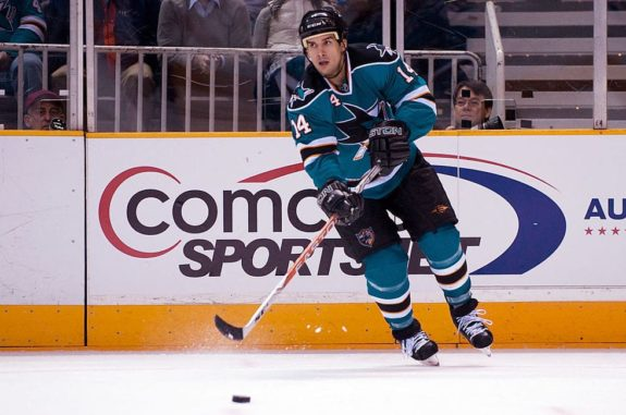 Jonathan Cheechoo Sharks