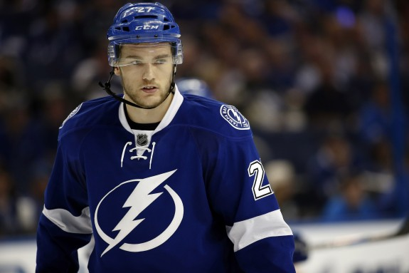 (Kim Klement-USA TODAY Sports) How good was Jonathan Drouin for the Tampa Bay Lightning? So good that Steve Yzerman no longer wants to get rid of him. Drouin kicked down the door of Jon Cooper's doghouse in these playoffs by scoring five goals and 14 points in 17 games.