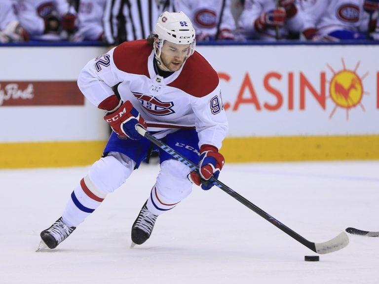 Canadiens forward Jonathan Drouin