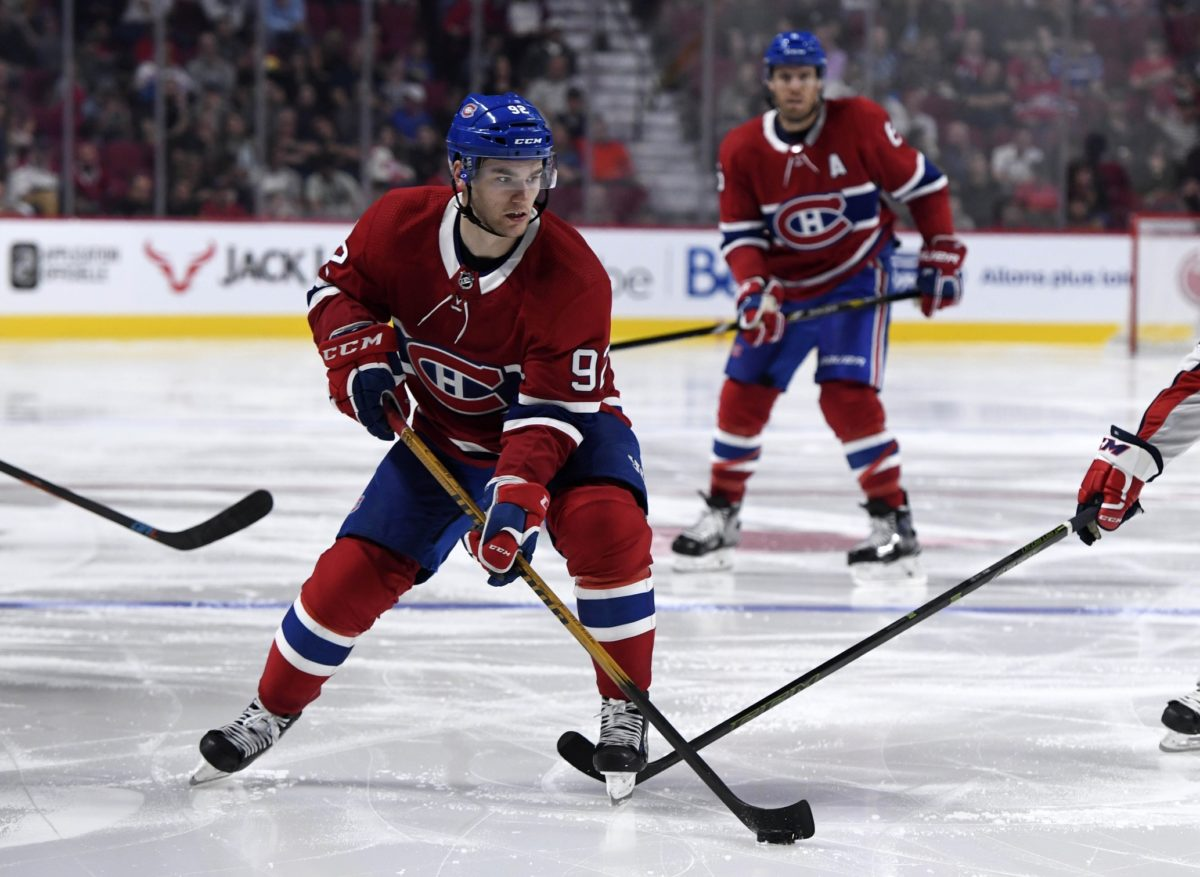 Montreal Canadiens forward Jonathan Drouin