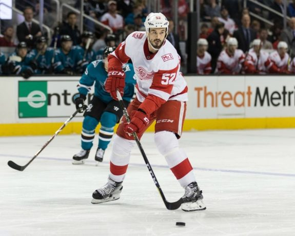 Red Wings defenseman Jonathan Ericsson