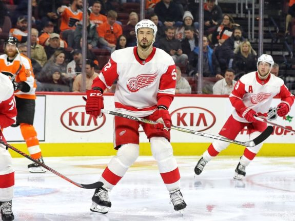 Jonathan Ericsson of the Detroit Red Wings