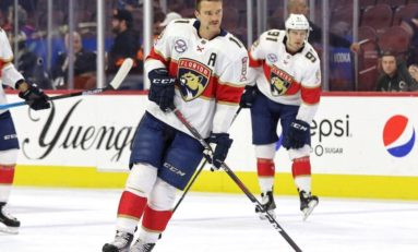Huberdeau, Dreidger Lift Panthers to 4-2 Win over Hurricanes