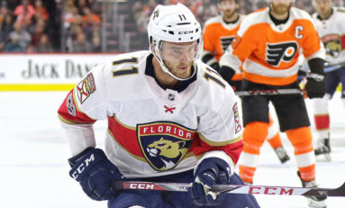 Panthers' Best All-Time Starting Lineup Left Wing: Jonathan Huberdeau