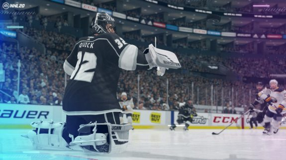 Jonathan Quick, NHL 20