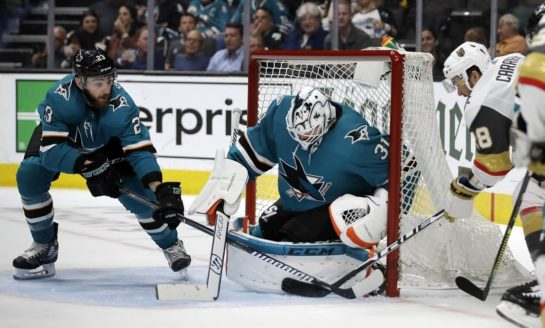 Sharks Down Golden Knights to Extend Series