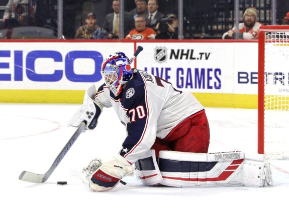 The Blue Jackets will need both Joonas Korpisalo and Elvis Merzlikins in goal for 2020-21