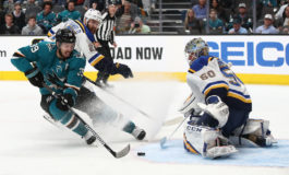 Sharks & Blues Square off With Series Tied