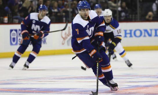 Islanders Outlast Blues in OT - Filppula Gets Winner