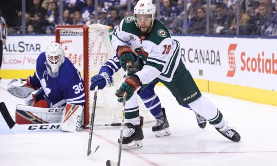 Greenway Scores in 3rd to Lift Wild over Coyotes 3-2