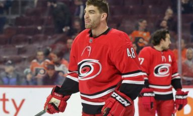Hurricanes' Martinook Expected to Miss 6-8 Weeks