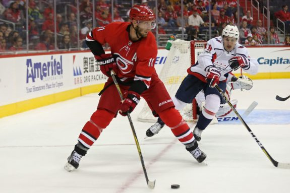 Carolina Hurricanes center Jordan Staal